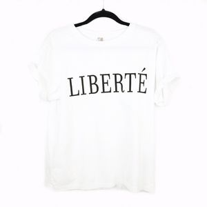 Banana Republic > Supima Liberté Graphic Tee Sz S